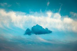 Le nuage - 40 x 60 cm