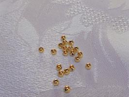 Perlen gold 3 mm