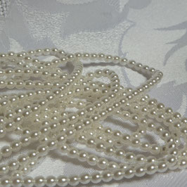 Perlen weiß 3 mm