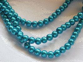 Perlen grün-türkis 4 mm