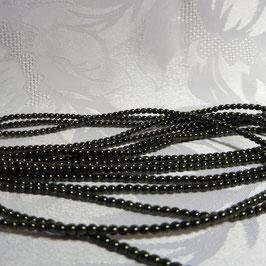 Perlen dunkelgrün 3 mm