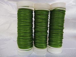 Cordonettdraht farbig grün 30er