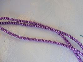 Perlen lila 3 mm