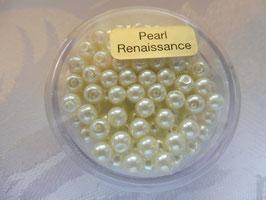 Perlen creme 4 mm