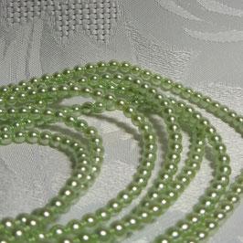 Perlen Fühlingsgrün 4 mm