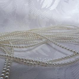 Perlen weiß 4 mm