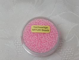 Miyuki Rocailles col inside rosa 2,2mm