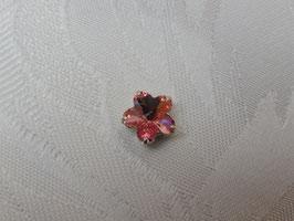 Glassteine Blüte light rose