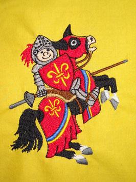 Stickdatei Ritter auf Pferd