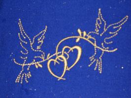 Stickdatei Tauben mit Herz