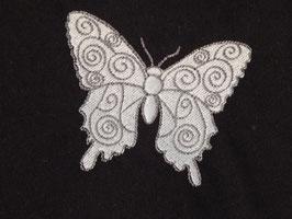 Stickdatei Schmetterling gefüllt 2