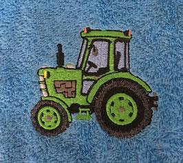 #Stickdarei Traktor Baby 2