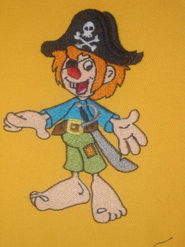 Stickdatei Pirat Knolle