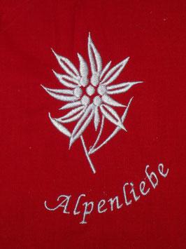 Stickdatei Edelweiss Alpenliebe