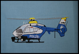 Stickdatei Polizeihelikopter
