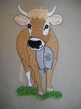 Stickdatei Schweizer Kuh