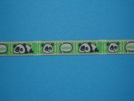 Webband Panda Bär 2 Meter