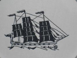 Stickdatei Segelschiff