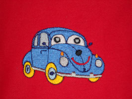 Stickdatei Auto mit Augen