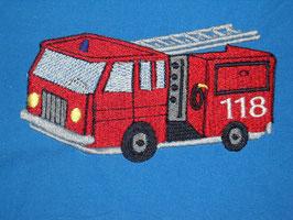 Stickdatei Feuerwehrauto