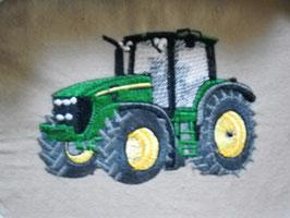 Stickdatei Traktor grün