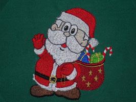 Stickdatei Weihnachtsmann