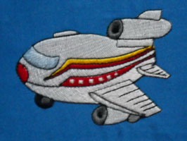 Stickdatei Flugzeug