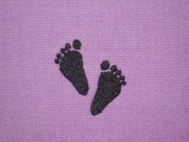 Stickdatei Babyfüsse leer