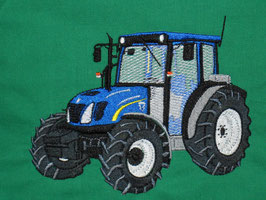 Stickdatei Traktor New Holland