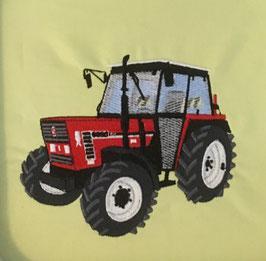 #Stickdatei Traktor Fiat rot