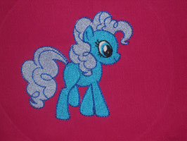 Stickdatei Pony blue