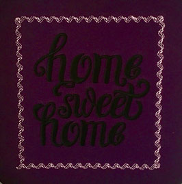 #Stickdatei Home sweet home