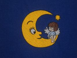 Stickdatei Mondstern Engelchen
