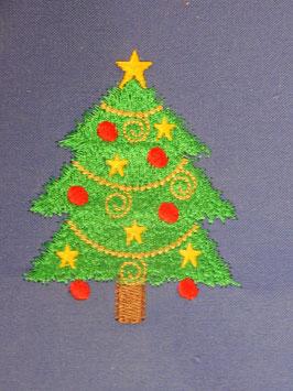Stickdatei Weihnachtsbaum