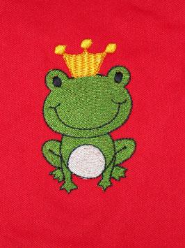 Stickdatei Froschkönig Ben