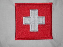 Stickdatei Schweizer Kreuz umrandet