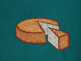 Stickdatei Käse