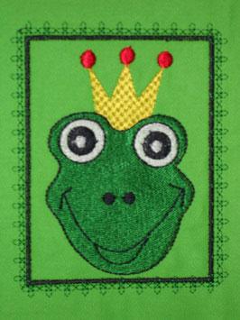 Stickdatei Froschkönig