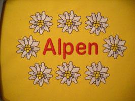 Stickdatei Edelweiss Alpen