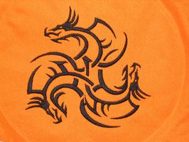 Stickdatei Dreikopf Drachen