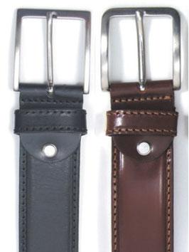 Cintura CUOIO bombata 3,5 cm - eco