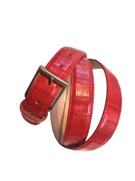 Cintura  Anguilla Rossa 3 cm
