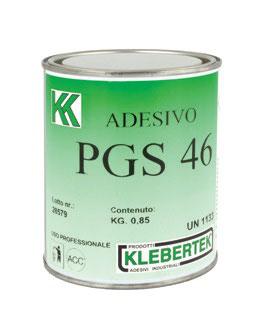 COLLA UNIVERSALE TIPO PGS 46 - 0,85 kg  KLEBERTEK - 2 pezzi (g8)