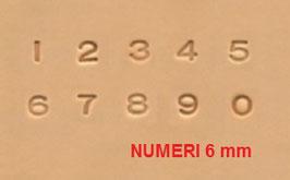 SET NUMERI 6 mm