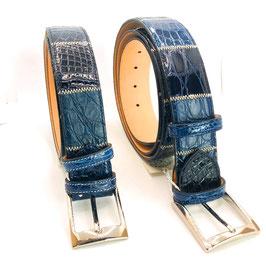 Cinture pachwork di Coccodrillo blu