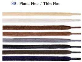 LACCI PIATTI FINI - 60 / 75 / 90 cm - PRESTIGE
