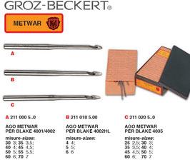 AGHI METWAR PER BLAKE - Grotz-Beckert