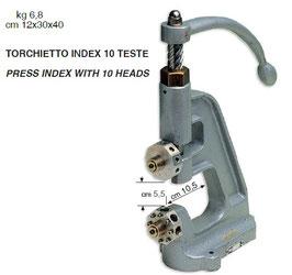 TORCHIETTO INDEX 10 TESTE
