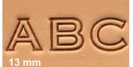 SET ALFABETO 13 mm