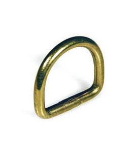 Mezzi anelli in Ottone Saldato